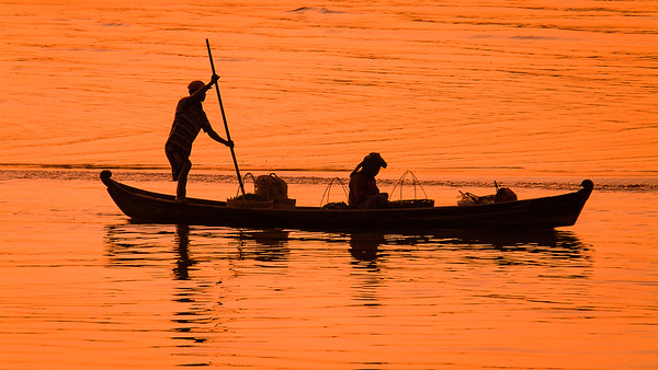 Evening on the Ayeyarwady River