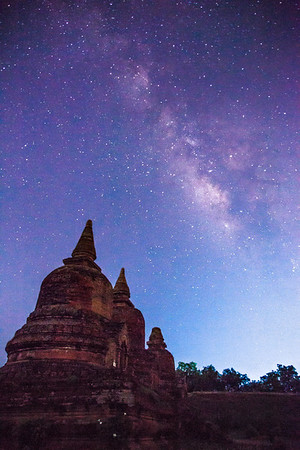 Pagodas in the Starlight