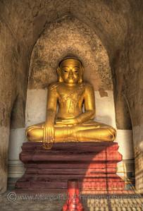 "Buddhas of Bagan #2. 15"" x 21"""