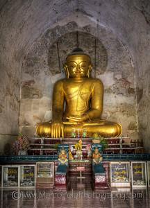"Buddhas of Bagan #3. 15"" x 21"""
