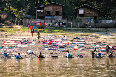 Laundry in Myanmar