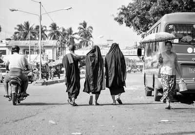 Streets of Myanmar