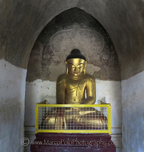 "Buddhas of Bagan #7. 15"" x 17"""