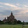 Thabeik Hmauk temple as sunset approaches, Bagan, Myanmar
