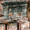 Temple detail with pigeon, Htilominlo Temple, Bagan, Myanmar<br /> <br /> Best seen at larger sizes.