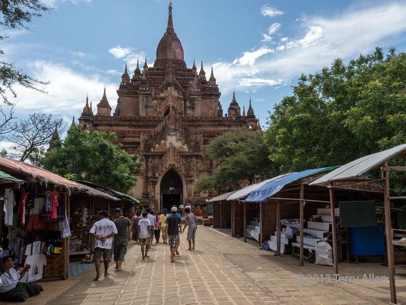 Htilominlo Temple (1218 AD), Bagan, Myanmar