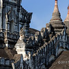 Gargoyles, Ananda Temple, Bagan, Myanmar