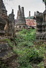 "Ruined stupas, Inn Thein, Inle Lake, Myanmar<br /> <br /> Two Kings of the Bagan empire, Narapatisithu and Anawrahta are believed to have built the original pagodas at Inn Thein. The site contains hundreds of pagoda in a state of ruin, The collection of Shwe Inn Thein pagodas are mostly from the 17th and 18th century, but some date back to as early at the 14th century.<br /> <br /> Other picturesque overgrown stupas from the Shwe Inn Thein site, and some futile attempts at clearing away the weeds, can be seen here: <a href=""http://goo.gl/EFKGs0"">http://goo.gl/EFKGs0</a><br /> <br /> 25/04/14  <a href=""http://www.allenfotowild.com"">http://www.allenfotowild.com</a>"