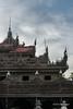 Intricate carvings, Shwenandaw Kyaung (Teak Temple) Monastery, Mandalay, Myanmar