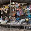 Street market, Dala village, Myanmar