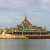 Karaweik-Royal-Barge,-Kandawgyi-Park,-Yangon