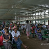 Ferry ride across the Irrawaddy River, Yangon, Myanmar