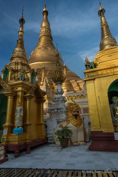Schwedagon Pagoda-1,Yangon, Burma