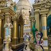 Symbolic-statues,-Schwedagon-Pagoda,-Yangon,-Burma<br /> <br /> I wonder if there is any significance to the pink toenails?