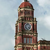 Queen-Anne-style-clock-tower-(1911,-James-Ransome)-Supreme-Court-building, -Yangon,-Burma