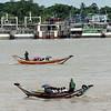 Irrawaddy River daily activities, Yangon, Myanmar