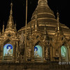 Schwedagon-Pagoda-at-night,-Yangon,-Burma