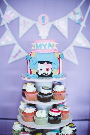 Mya's 1st Birthday (Event Photos + Fusion Portraits)