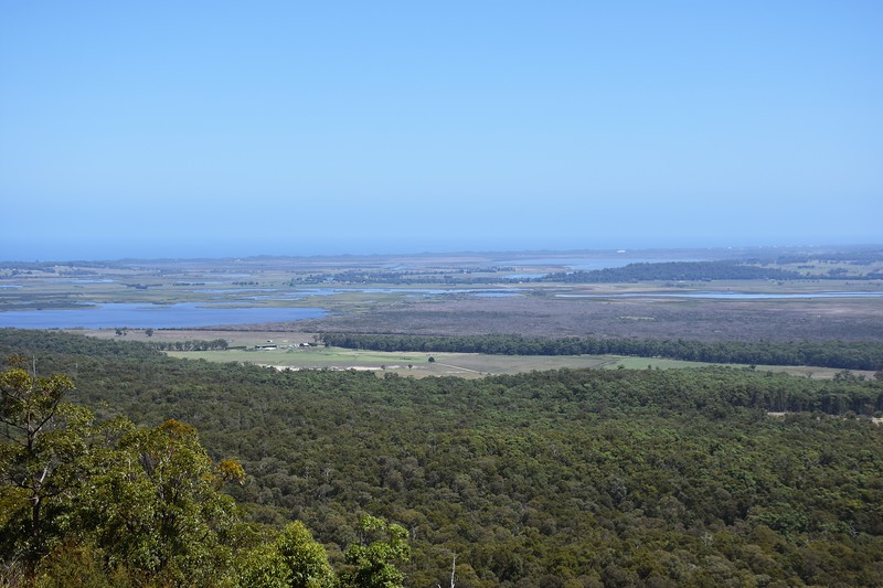 View from Mt Raymond, near Orbost