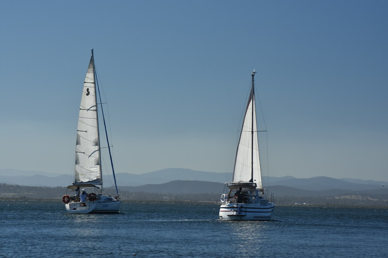 Cruising the Gippsland Lakes near Paynesville