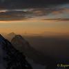 View towards Matterhorn and Monte Rosa