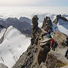 On the summit of Gran Paradiso (4061m)