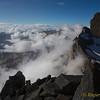 climbing Portjengrat / Pizzo d'Andolla (3653m)
