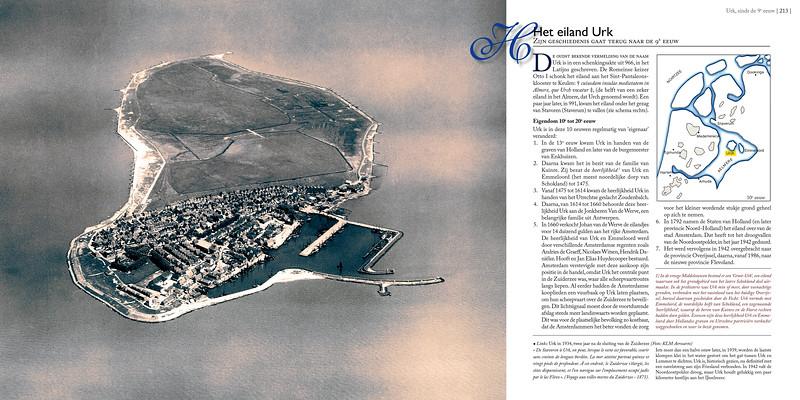 Het eiland Urk, zijn geschiedenis gaat terug naar de 9e eeuw