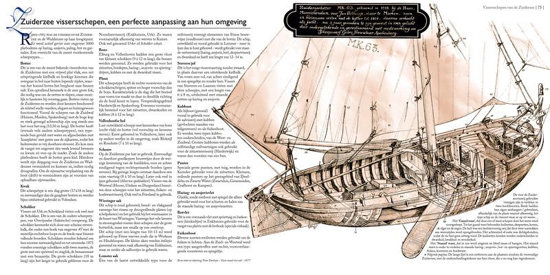 Zuiderzee vissersschepen