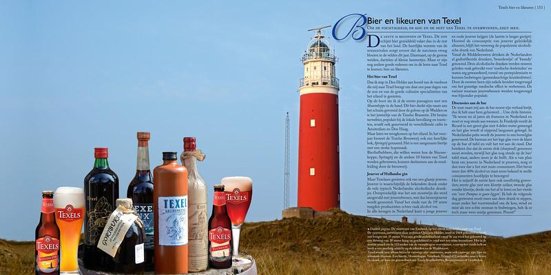 Bier en likeuren van Texel