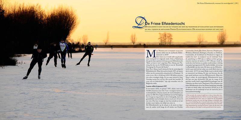 De Friese Elfstedentocht,  Hindeloopen