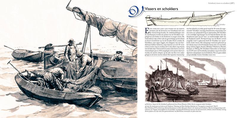 Schokland, vissers en schokkers