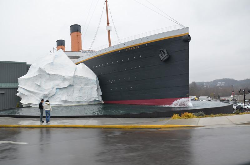Titanic adventure in Gatlinburg.