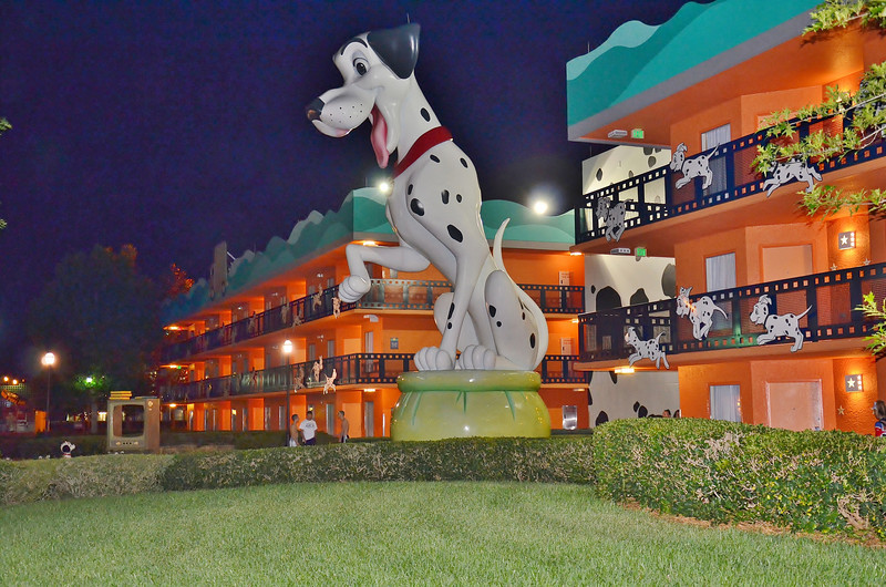 101 Dalmations wing at the Hollywood Movies Resort at Disney.