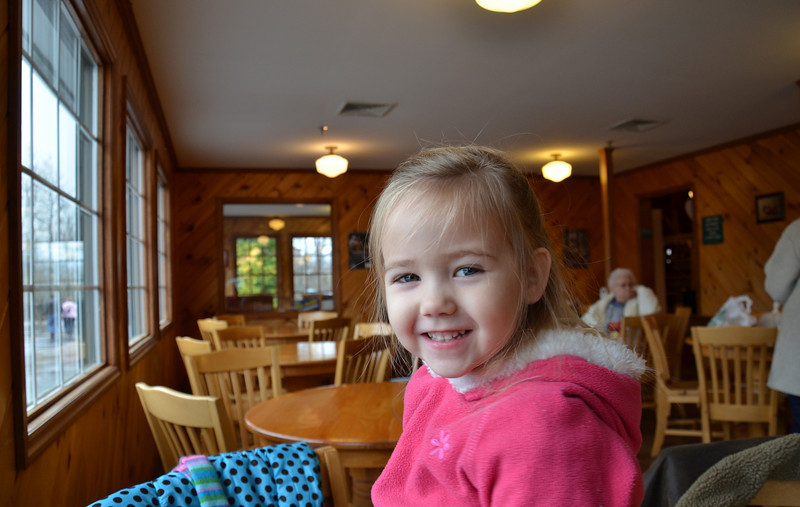 Time for breakfast at the apple barn in tennessee