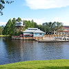 River view at Port Orleans at Disney. Sat 28th