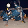 Picture of a Corsair at an air show in New Symrna Beach last night.