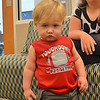This is one from the archives while my camera is being fixed. This is my youngest grandson , took this in the MEPS center waiting area last month while his dad (my youngest son) was going through his processing to join the Marine Corps. You don't want to get on his wrong side some days and I guess I took one too many pics of him. This is his enough is enough look...