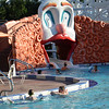 The kids pool at the Boardwalk resort.