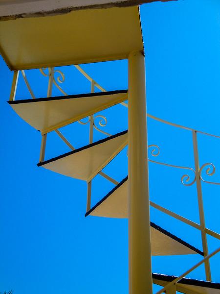 Blue Sky Stairs