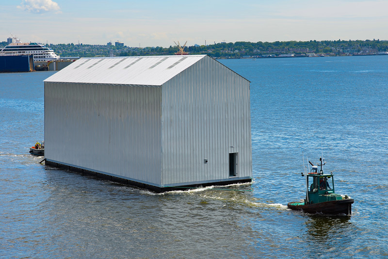 Boatshed under Tow