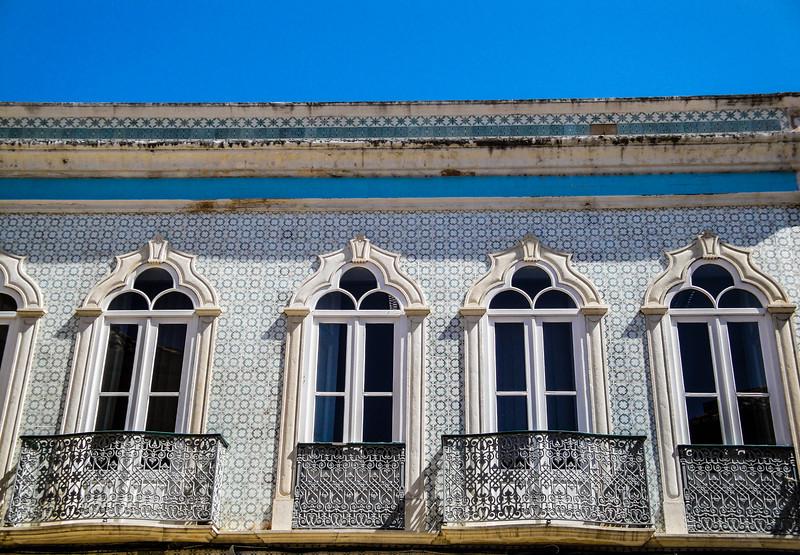 Windows, balconies and rooflines