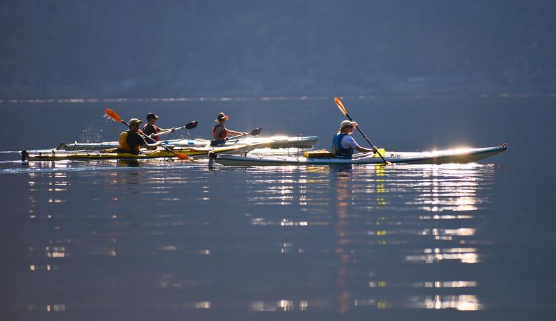 Kayaking the Indian Arm