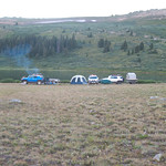 Our camp at Taylo Lake