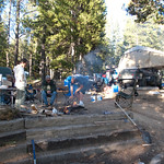 Our final camp at Turquoise Lake