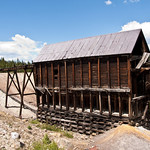 Old Mining Building near Leadville