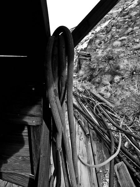 Old Hose at Mine Site