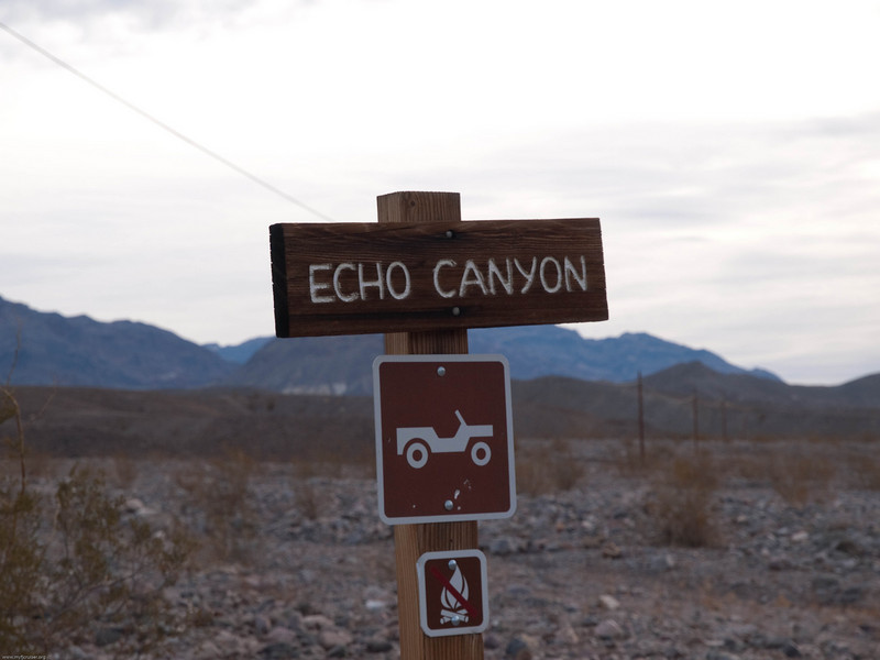Echo canyon Trail Head