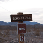 Echo canyon Trail Head