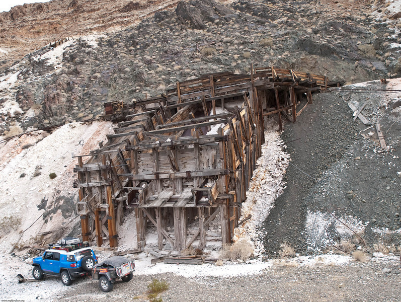 FJ and Old Mining Structure